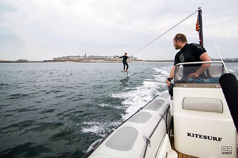 Découverte foil kitesurf
